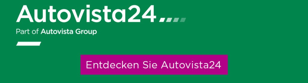 Grüner Banner von Autovista24
